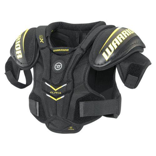 Warrior Alpha QX Shoulder Pads Yth.